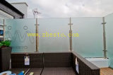 Решетка подгонянной поставкы закаленная/прокатанная архитектурноакустическая проекта балкона стекла