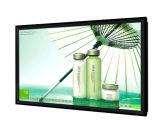 Vídeo del panel de visualización del LCD de 75 pulgadas que hace publicidad del jugador, indicador digital
