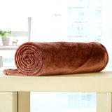 Cobertor contínuo pequeno da flanela do cobertor do poliéster (SR-B170316-37)