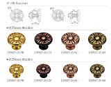 金によってめっきされる高品質の真鍮の家具のハードウェア