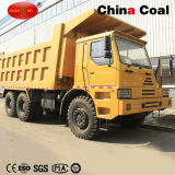 370HP Diesel Engine Euro2 HOWO Tipper Truck