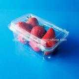 使い捨て可能で明確なクラムシェルのプラスチックフルーツの包装の皿の容器400グラム