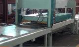Máquina caliente automática de la tarjeta del fieltro de madera de la prensa con una capa