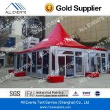 Events를 위한 10X10m Glass Wall Pagoda Tent/Gazebo Tent