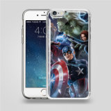 iPhone 반대로 중력 이동 전화 덮개 케이스를 위한 Samsung를 위한 투명한 인쇄 반대로 중력 전화 상자