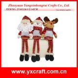 La decoración de la Navidad de la decoración de la Navidad (ZY16Y116-1-2-3 los 42CM) quiere el nuevo arte de los cabritos de las ideas de la compra