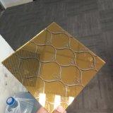 カラーミラーそしてチタニウム反射装飾的なガラス