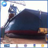 Saco hinchable de lanzamiento de la nave de goma inflable del salvamento de marina