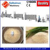 Fábrica artificial del arroz que hace la máquina