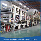 solución de alta resistencia de la fabricación de papel de la fourdrinier de 3200m m que estría