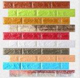 Collant non-toxique de panneau de mur de briques de mousse de la Bébé-Maison XPE