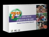 Самая новая модель 2015 рамка фотоего 7 цифров функции дюйма основная