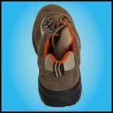 Bestes populäres Soem-Veloursleder-Leder-Stahlzehe-Sicherheits-Schuhe (UF-113)