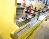 Machine de frein de presse de plaque de feuillard, machine à cintrer hydraulique de commande numérique par ordinateur
