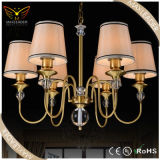 Beleuchtung Fixtures von Fabric Antique Bronze Light Chandelier (MD7383)