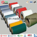 Le bobine di PPGI, colorano la bobina d'acciaio rivestita, il bianco Ral9002 preverniciato