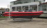 Bote patrulla de la costilla de China Aqualand el 19FT los 5.8m/barco del salto/bote de salvamento inflables rígidos (rib580t)