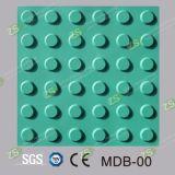 Плитка PVC строительных материалов тактильная для слепого вымощая индикатора