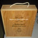 تصميم جديدة صنع وفقا لطلب الزّبون خشبيّة خمر صندوق مع [بورنت] علامة تجاريّة