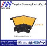 Ограничители перенапряжения кабеля угла протектора кабеля напольные пластичные