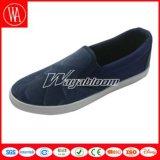 Zapatos llanos de los hombres de la comodidad de la lona del Slip-on