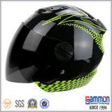 Raffreddare il casco aperto del motociclo/motorino del fronte (OP201)