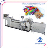 Máquina automatizada etiqueta engomada del embalador del gránulo de la columna del equipo de envasado