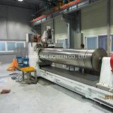 工場井戸フィルターウェッジワイヤースクリーンの管の溶接機