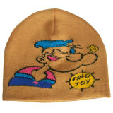 Beanie tricoté avec la garniture Contrasting NTD1615