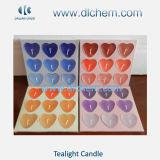 Hete Paraffine Tealight Candles#09 van de Kleur van de Kwaliteit van de Verkoop Uitstekende Diverse