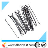 Fibra de acero para el refuerzo concreto, fibra del acero inoxidable