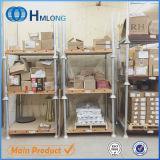 Сверхмощный штабелируя подвижной шкаф паллета металла