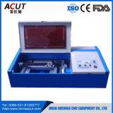 Máquina pequena do laser do CNC do CO2 para a máquina de gravura da estaca/laser