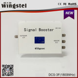 24dBm 1000m2 DCS-3f 1800MHz de Repeater van het Signaal Cellphone met Interface 3