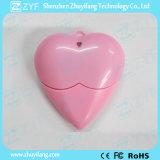 Rojo en forma de corazón de plástico USB Flash Drive (ZYF1200)
