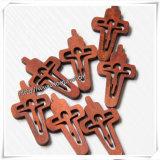 Croix en bois pour s'user à côté de la peau/de croix en bois (IO-cw016)