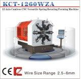 Kcmco-Kct-1260wz 6mm весна автомобиля CNC 12 осей Camless разносторонняя делая весну выдвижения кручения Machine& формируя машину