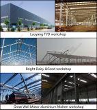 Construção de aço/edifício de frame/fábrica claros galvanizados