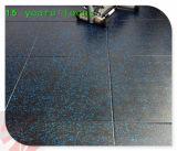 300*300mm fáceis instalam a telha de revestimento de borracha da ginástica