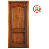 Классицистическая дверь твердой древесины сбор винограда