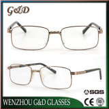 La última lente 42-988 óptico de Eyewear del marco del metal del diseño