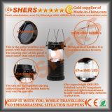 6 LED-Solarlaterne für das Kampieren mit USB-Anschluss (SH-1995)