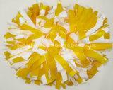 Blick POM POM naßmachen: Mischungs-Weiß gelb färben