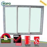 Constructeur personnalisé de modèle de porte en verre de glissement de la garantie UPVC
