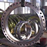大口径の鍛造材のフランジ(300-6500mm)