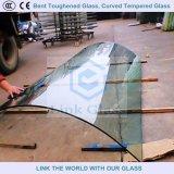 Gebogen Gehard glas, Gebogen Aangemaakt Glas voor de Bouw en Toestel