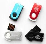 Mini disco impermeabile del driver del USB della parte girevole del USB Thumbdrive