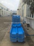 Il tetto ondulato di colore della vetroresina del comitato di FRP/di vetro di fibra riveste W172031 di pannelli