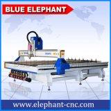 アクリルのプラスチック、インドの価格のCNCのルーター機械2030年のための青い象CNCのルーター