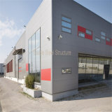 Entrepôt préfabriqué conçu par professionnel de structure métallique